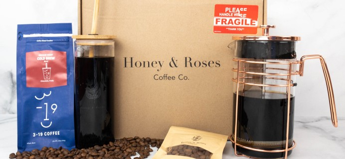 Honey and Roses Coffee Co. Subscription Review – Cold Brew