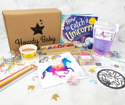 Howdy Baby Box August 2021 Subscription Box Review + Coupon