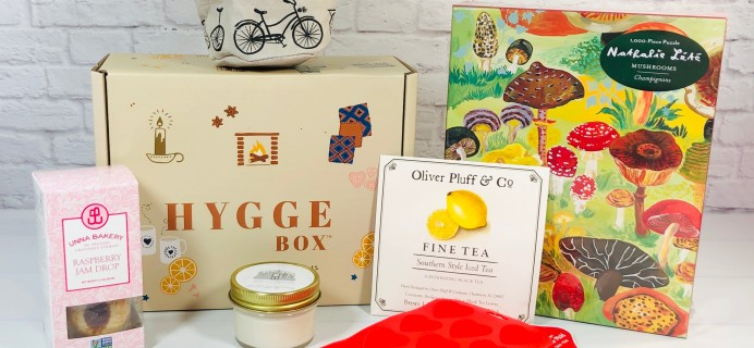 Hygge Box Review – August 2021 Deluxe Box