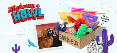 BarkBox Deal: Double Your First Box for FREE + Road Trip Box!