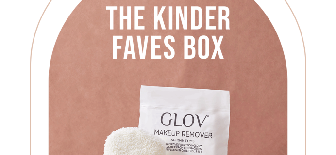 Kinder Beauty Box: New Kinder Faves Starter Box!