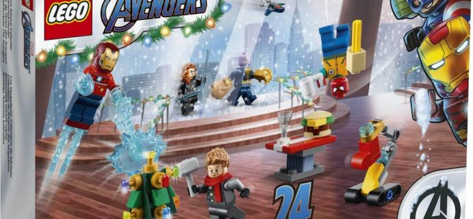 Lego Marvel Avengers Advent Calendar 2021 Spoilers: Iron Man, Nick Fury, Captain Marvel & More!