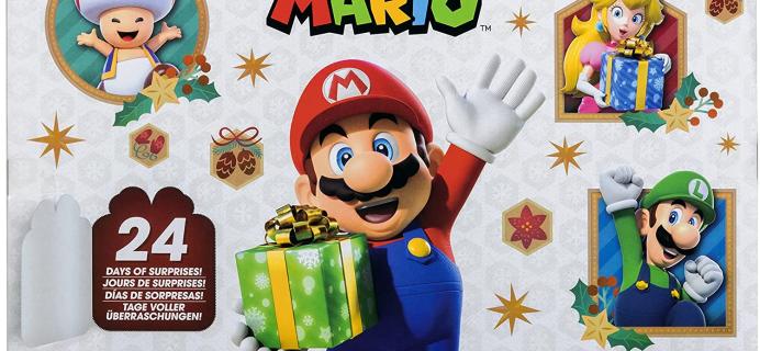 2021 Super Mario Advent Calendar: Never Before Seen Santa and Snowman Mario!