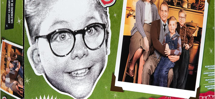2021 Jakks Holiday A Christmas Story Advent Calendar: 24 Fun Collectibles Inspired By The Movie!