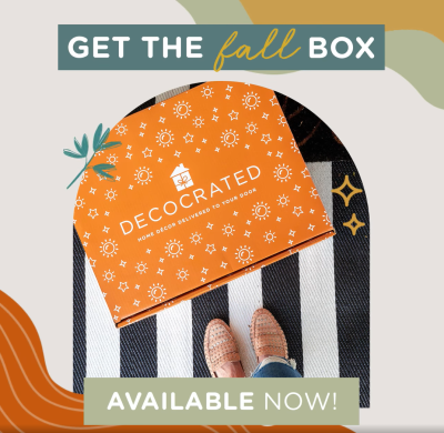 Decocrated Fall 2021 Box Full Spoilers + Coupon!