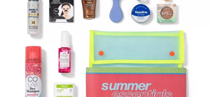 Target Beauty Capsule Summer Essentials Bath and Body Gift Set: 11 Piece Summer Must Have Products!