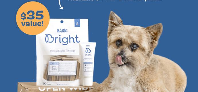 Bark Bright Coupon: FREE Extra Month of Dog Dental Kit!