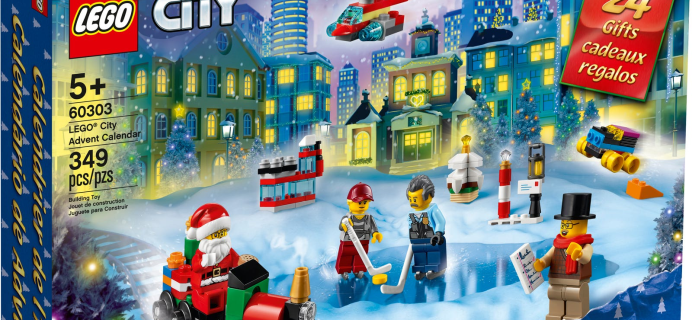 Lego City 2021 Advent Calendar Is Here: Top Hat Tom, Bob, and Betty Minifigures!