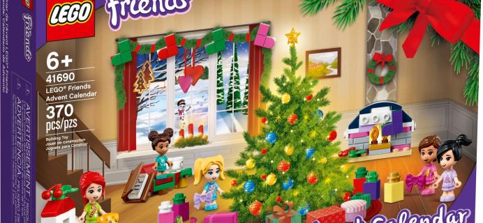 Lego Friends 2021 Advent Calendar Spoilers: 370 Piece Set Of Festive Play Toys!