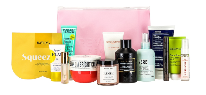 Revolve Beauty #REVOLVEsummer Beauty Box Is Here: Curated Collection To Protect and Enhance Your Complexion!