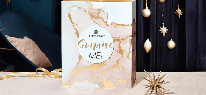 2021 GLOSSYBOX US Advent Calendar Available Now For All + Full Spoilers!