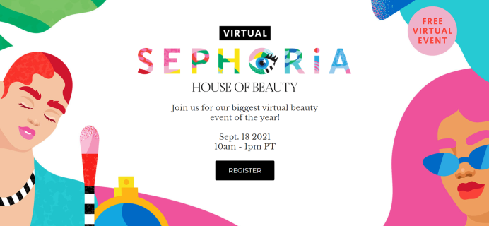 Sephora's Hosting The Virtual Beauty Event Of The Year – SEPHORiA 2021!