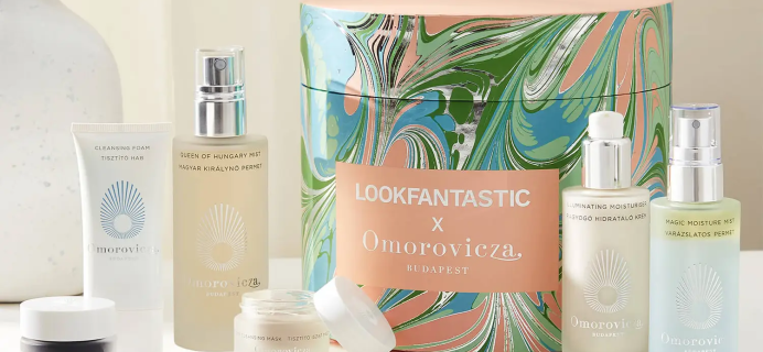 Look Fantastic x Omorovicza Limited Edition Beauty Box: 6 Best-Selling Products + Full Spoilers!