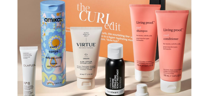 The Cult Beauty The Curl Edit: 7 Products For Nourishing Curly Hair Full Spoilers!