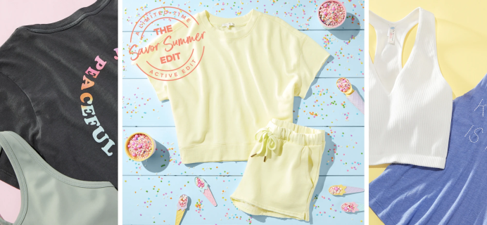 Wantable Active Limited Edition Savor Summer Edit: Looks To Savor Every Last Drop of Summer!