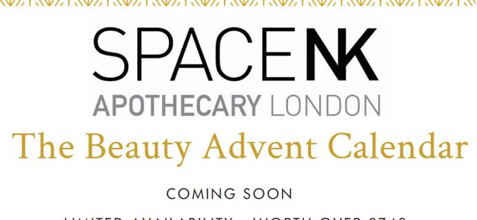 Space NK 2021 Beauty Advent Calendar Waitlist Opens Now! {UK}