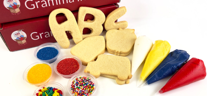 Gramma in a Box: Make Back-To-School Treats this September!