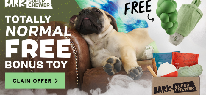 Super Chewer Deal: FREE Dope Dog Toy With First Box of Tough Toys for Dogs!