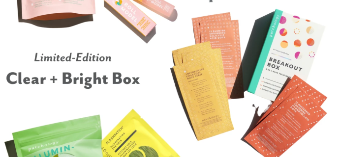 New Patchology Limited-Edition Clear + Bright Box: Breakout Box + Roll Model Kits For Just $50!