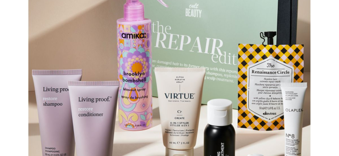 The Cult Beauty The Repair Edit: 9 Products to Restore Damage Hair + Full Spoilers!