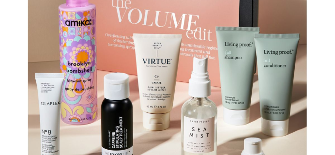 The Cult Beauty The Volume Edit: 9 Hair Products With Body Boosting Formula + Full Spoilers!