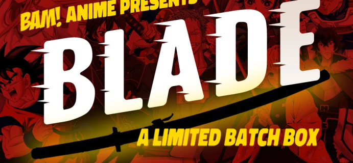 The BAM! Anime Box Launches Limited Edition BLADE Box: Comes With 40 Inch Signed Katana!