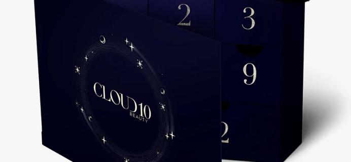 Cloud 10 Beauty 2021 Advent Calendar: Waitlist Open Now!