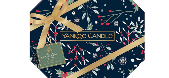 Yankee Candle UK 2021 Advent Calendar: 24 Festive Candles + Full Spoilers! {UK}