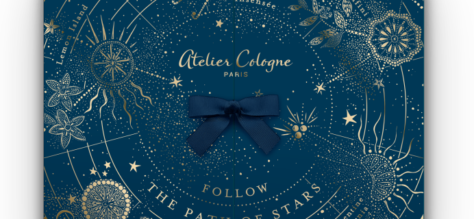 2021 Atelier Cologne Luxury Advent Calendar: 24 Days of Luxurious Gifts + Full Spoilers!