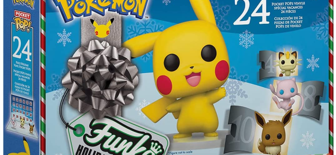 2021 Funko! Pocket Pop Pokemon Advent Calendar Available Now for Preorder + Spoilers!