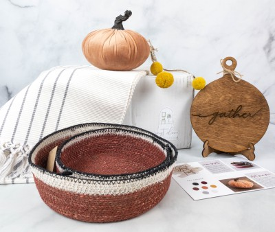 Just Deco Fall 2021 Subscription Box Review + Coupons