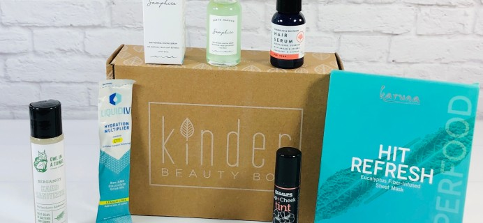 Kinder Beauty Box August 2021 Review + Coupon – DEEP SEA