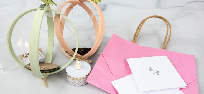 Lil Grace Box by Confetti Grace July 2021 Craft Subscription Box Review