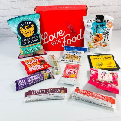 Love With Food August 2021 Gluten-Friendly Box Review + Coupon