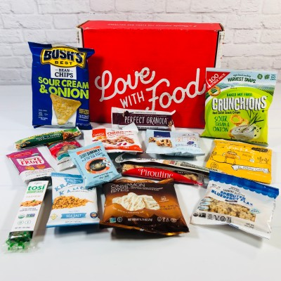 Love With Food July 2021 Deluxe Box Review + Coupon