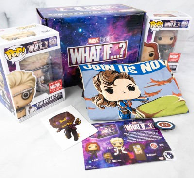 Marvel Collector Corps Review – WHAT IF…? – July 2021