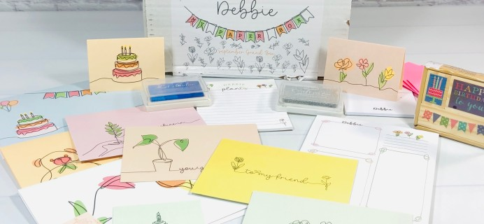 My Paper Box September 2021 Subscription Box Review + Coupon