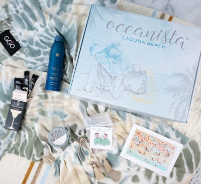 Oceanista Summer 2021 Subscription Box Review + Coupon