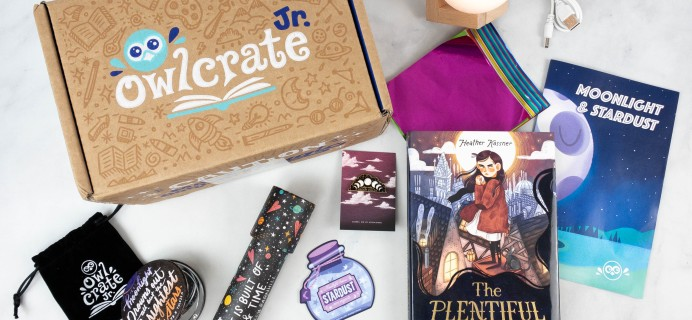 OwlCrate Jr. August 2021 Box Review & Coupon – MOONLIGHT & STARDUST!