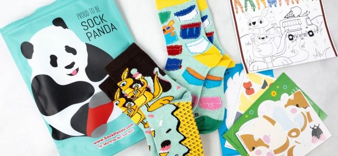 Panda Pals Kids Sock Subscription Review + Coupon –  August 2021