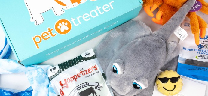Pet Treater Deluxe Dog Pack Review + Coupon – August 2021