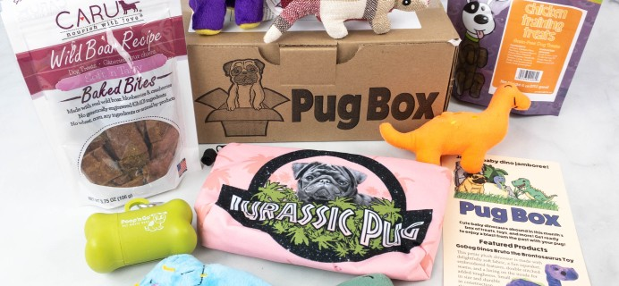 Pug Box Review + Coupon – August 2021