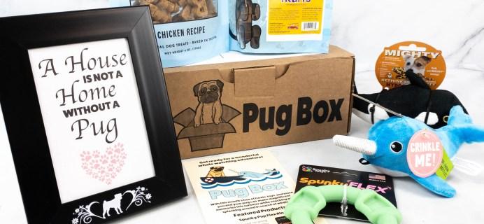 Pug Box Review + Coupon – July 2021