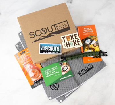 SCOUTbox Review + Coupon – August 2021