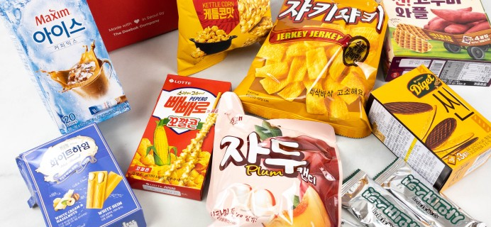 Snack Fever Unboxing + Coupon – July 2021 Deluxe Box!