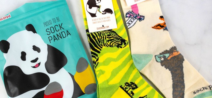 Sock Panda Tweens August 2021 Subscription Review + Coupon