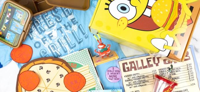 Spongebob Squarepants Bikini Bottom Box Review: Summer 2021