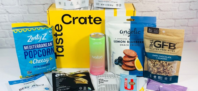 TasteCrate August 2021 Subscription Box Review