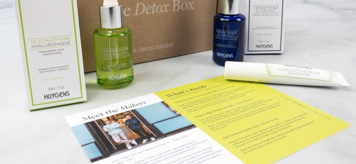 The Detox Box August 2021 Review: HUYGENS