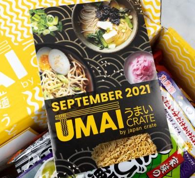 Umai Crate September 2021 Full Spoilers + Coupon!
